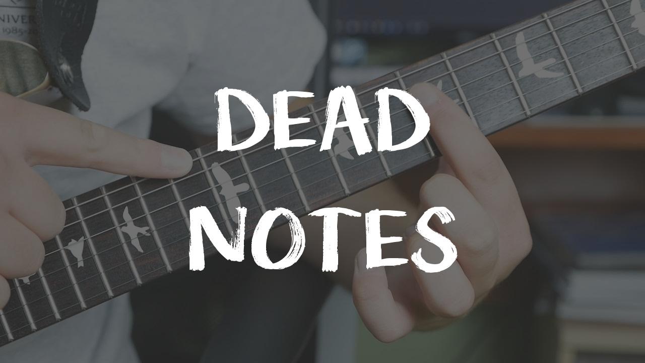 [LEKCJA] DEAD Notes – martwe nuty