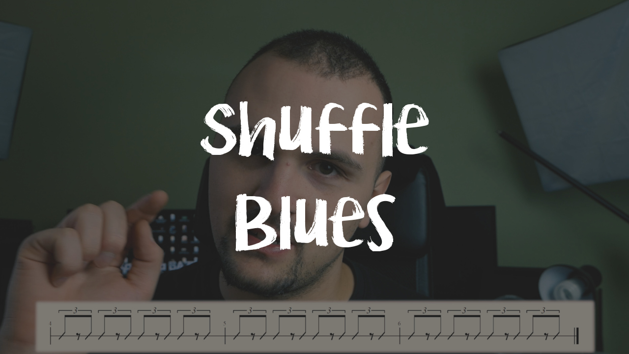 [LEKCJA] Shuffle Bluesowy – Swing Triolowy – wyjaśnienie!