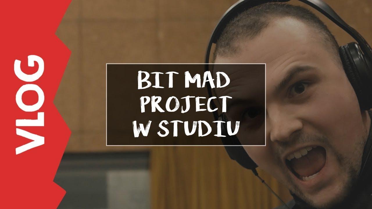 [VLOG] – Bit Mad Project w Studiu w Warszawie!