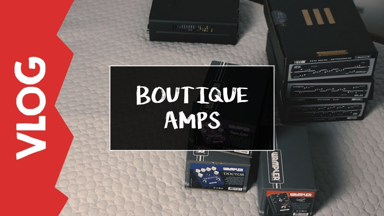 [VLOG] Współpraca z Boutique Amps
