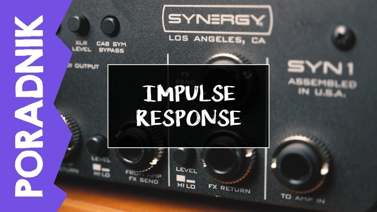 [PORADNIK] Nagrywanie gitary elektrycznej – Impulse Response