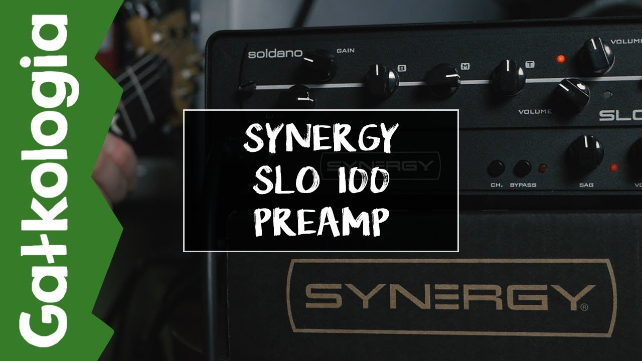 [GAŁKOLOGIA] Synergy Soldano SLO 100 Preamp