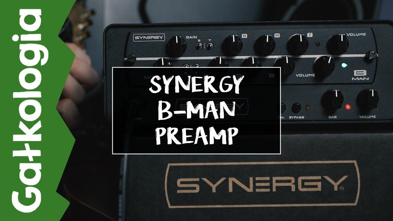 [GAŁKOLOGIA] Synergy B-Man (Fender Bassman) Preamp