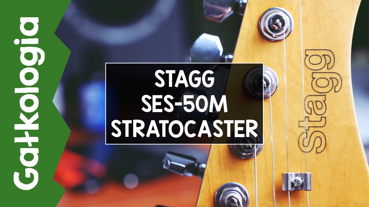 [GAŁKOLOGIA] STAGG SES-50M Stratocaster