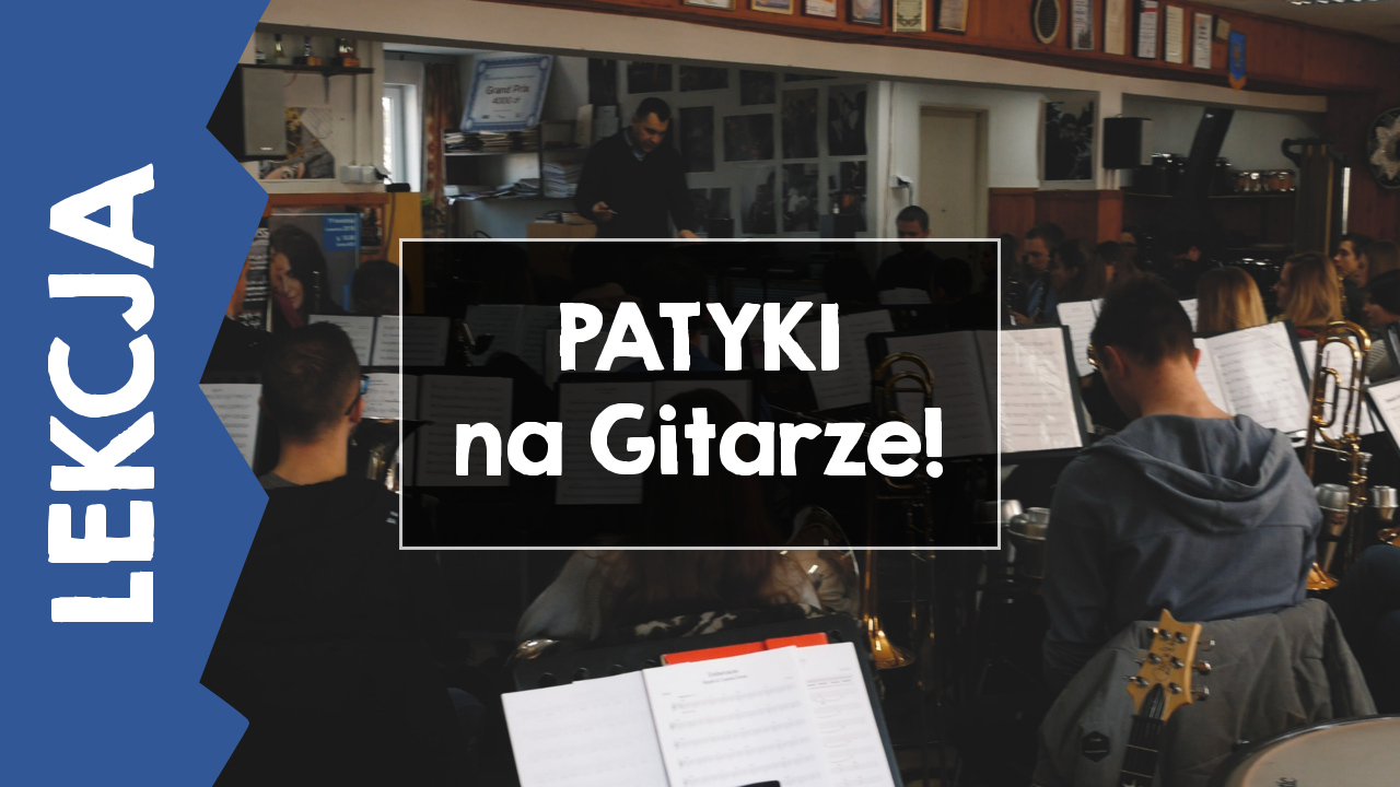 [LEKCJA] Jak Zagrać Patyki na Gitarze?