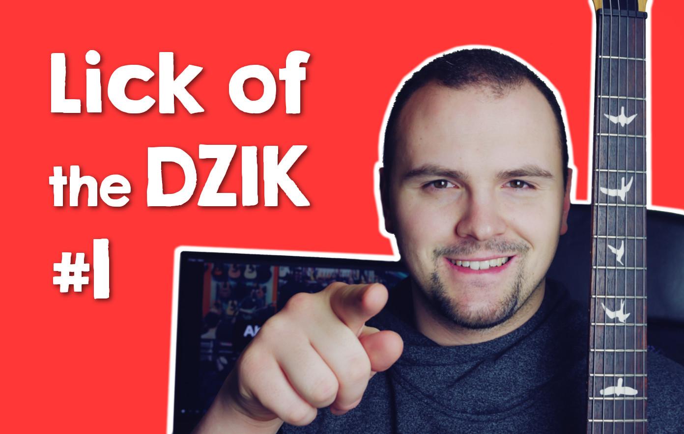 [LEKCJA] Lick of the DZIK #1 – Blues Am – Start